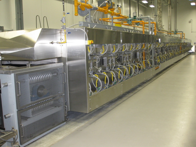 Direct Fired Tunnel Ovens